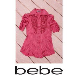 Bebe Button-Down Top